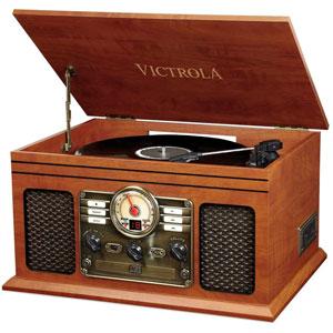 Classic 6-in-1 Platine Vinyle - Acajou