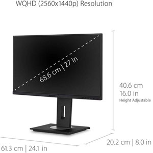 Ergonomic VG2755-2K
