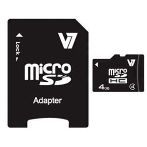 photo 4 Go Class 4 Micro SDHC Card + Adaptateur
