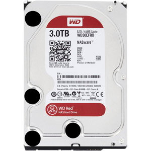 photo WD Red 3 To SATA 6Gb/s