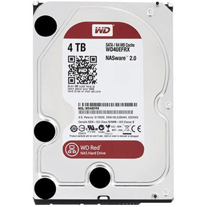 photo WD Red 4 To SATA 6Gb/s 64 Mo