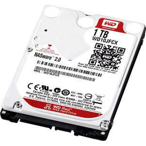 WD Red Mobile 1 To SATA 6Gb/s 16 Mo - 9,5mm