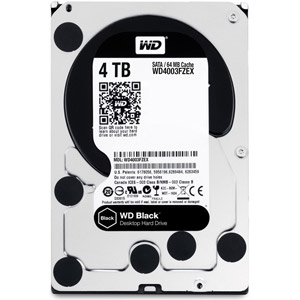 photo WD Black 4 To SATA 6Gb/s 128 Mo
