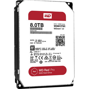 photo WD Red Pro 8 To SATA 6Gb/s