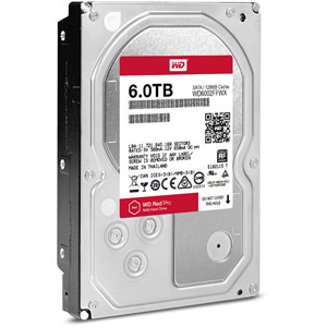 photo WD Red Pro 6 To SATA 6Gb/s 128Mo