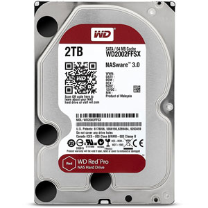 photo WD Red Pro 2 To SATA 6 Gb/s
