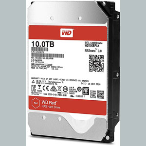WD Red 10 To SATA 6Gb/s 256 Mo