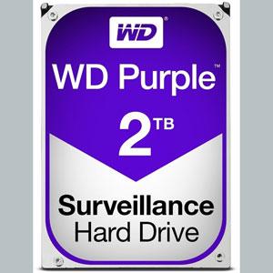 WD Purple 2 To SATA 6Gb/s 64Mo