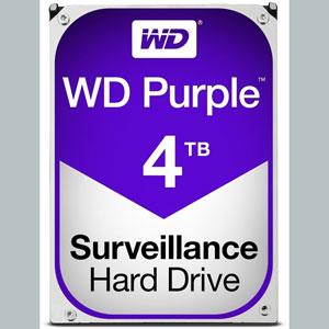 WD Purple 4 To SATA 6Gb/s 64Mo