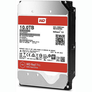 photo WD Red Pro 10 To SATA 6Gb/s 256Mo