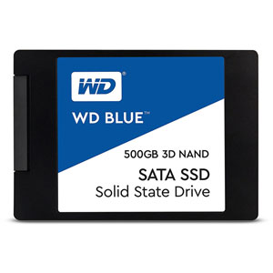 WD Blue 3D NAND SATA SSD 2.5  - 500Go
