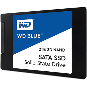 photo WD Blue 3D NAND SATA SSD 2.5  - 2To
