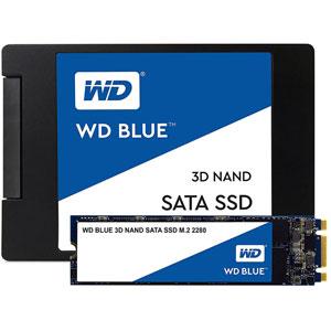 photo WD Blue 3D NAND SATA SSD M.2 - 250Go