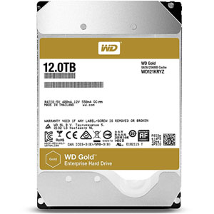 photo WD Gold Enterprise-Class 3.5  SATA 6Gb/s - 12To