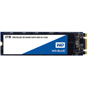 WD Blue 3D M.2 SATA 6Gb/s - 2To
