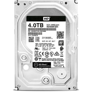 WD Black 4 To SATA 6Gb/s 256 Mo