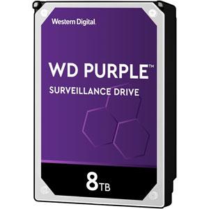 photo WD Purple Surveillance 3.5  SATA 6Gb/s - 8To