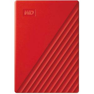 My Passport - 2To/ USB 3.2/ Rouge
