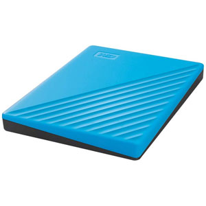 My Passport - 2To/ USB 3.2/ Bleu
