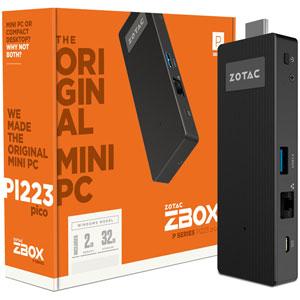 ZBOX PICO PI223 - Atom / 32Go / W10 Home