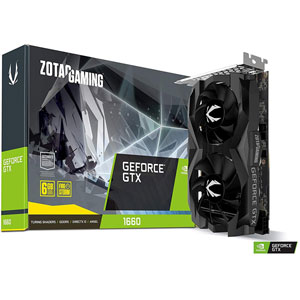 Gaming GeForce GTX 1660 Twin Fan