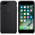 Photos Coque en silicone iPhone 7 Plus - Noir