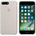 Photos Coque en silicone iPhone 7 Plus - Gris sable