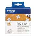 Photos DK11221 - Étiquettes papier carrées