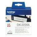Photos DK22205 - Ruban papier blanc résistant