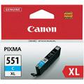 Photos Cartouche d'encre Cyan - CLI-551C XL