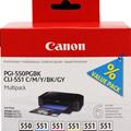 Photos MultiPack PGI-550 + CLI-551BK/M/C/Y/GY