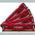Photos Ballistix SportLT Red 2x16Go DDR4 PC4-19200 CL16