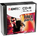 Photos Pack de 10 CD-R 700Mo 52x Slim