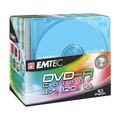 Photos Pack de 10 E-DVD-R 4,7GB 16X Slim