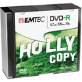 Photos Pack de 10 DVD-R 4,7GB 16x Slim