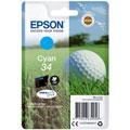 Photos Série Balle de golf cyan - N°34/300 pages
