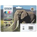 Photos Série Eléphant 24 - Multipack 6 couleurs