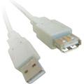 Photos Rallonge USB 2.0 type AA M/F Beige - 5m
