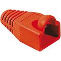 Photos Manchon RJ45 rouge 6,5mm (sachet de 10)