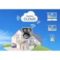 VisionCam Cloud interieur Wifi motorisee V2.4 Noir