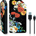 Photos Power Bank 3000mAh  - BLACK FLOWER