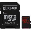 Photos 64Go microSD UHS-I Class U3 + Adaptateur SD