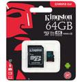 Photos Canvas Go! microSD UHS-I U3 - 64Go + Adaptateur SD