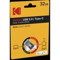Photos K232C Dual USB2.0 Type-C - 32 Go