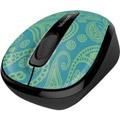 Photos Wireless Mobile Mouse 3500 Aqua Paisley