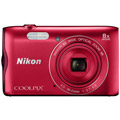 Photos Coolpix A300 Rouge