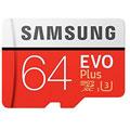 Photos MicroSD EVO Plus 64Go + Adaptateur SD
