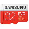Photos MicroSD EVO Plus 32Go + Adaptateur SD