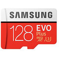 Photos MicroSD EVO Plus 128Go + Adaptateur SD