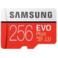 Photos MicroSD EVO Plus 256Go + Adaptateur SD